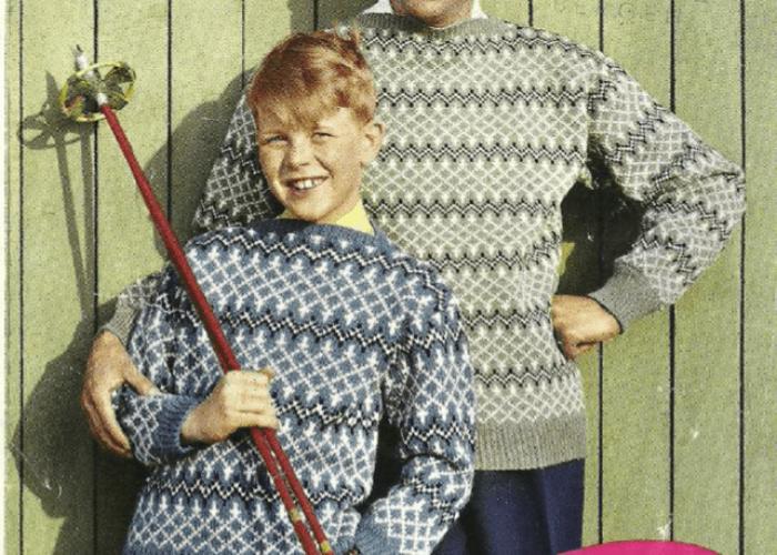 k 822 Bjørn og sønn