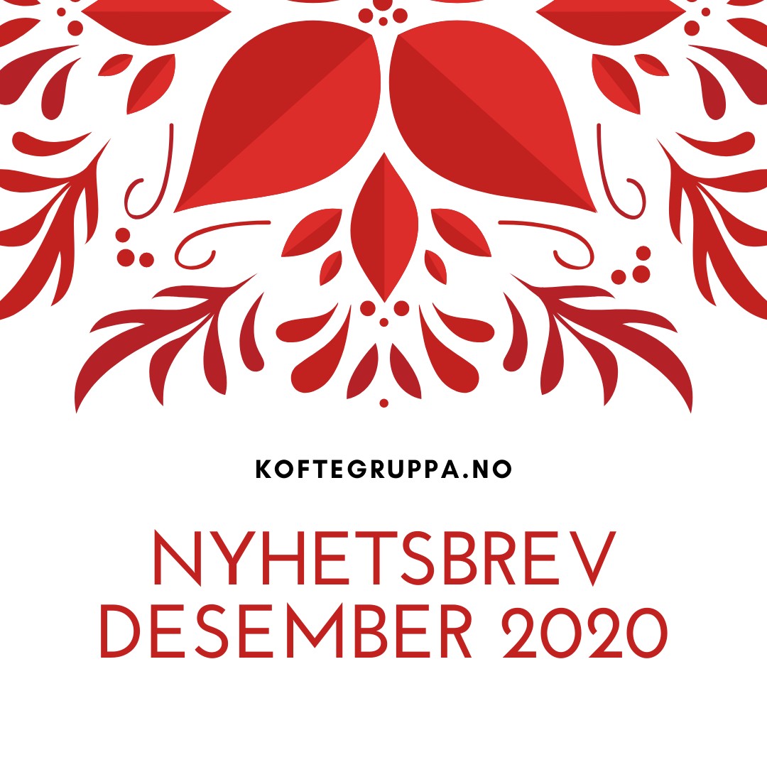 Nyhetsbrev Desember 2020