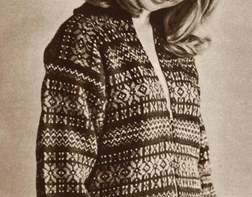 AFD 1960 Kofte med glidelås